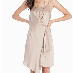 NWT Lucky Brand silk slip dress size large